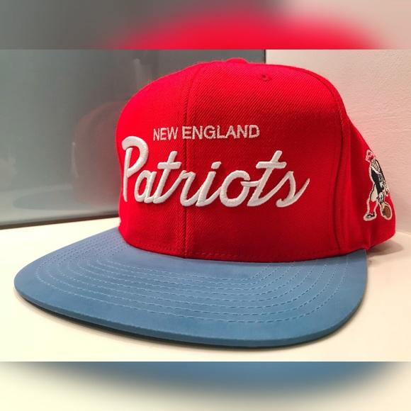 Mitchell Ness New England Patriots 3M Snapback Hat efccb3a9c